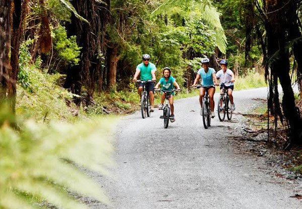From $15 for a Bay of Islands Cycle Trail Tour incl. Bike Hire, Helmet Hire & Transport