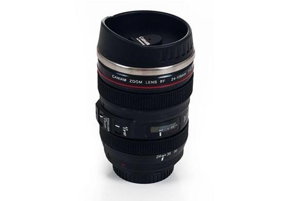 Camera Lens Coffee Mug • GrabOne NZ