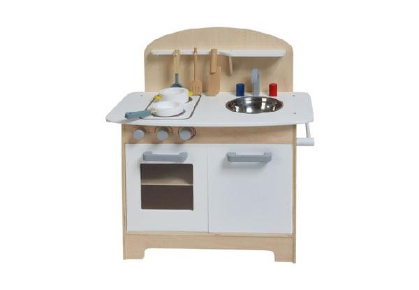 Wooden Kitchen Play Set Grabone Nz