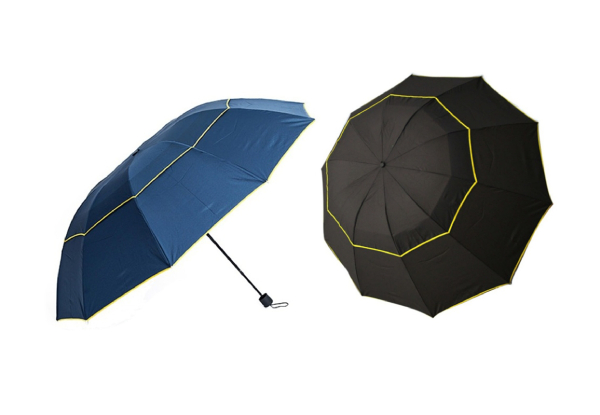 Large Windproof Umbrella - Two Colours Available