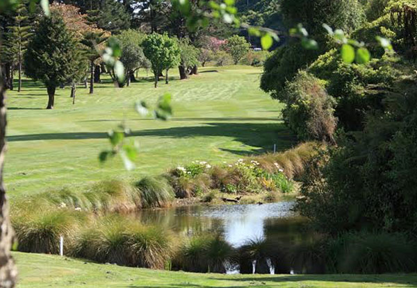 Round of Golf for One Person - Options for Two & Four People