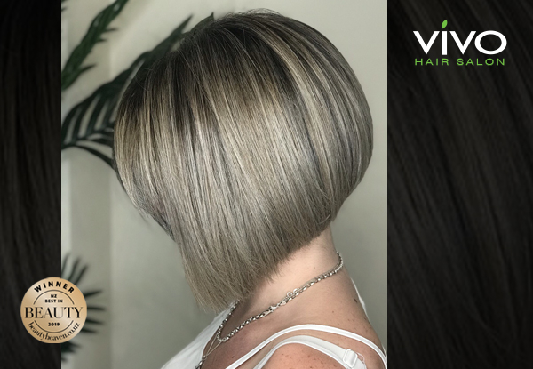 Premium Hair Colouring, Styling & Maintenance Packages from Award Winning Salon VIVO - Option for All-Over Colour or Half Head, Full Head of Foils, Blonde Package, Creative Colour or Balayage