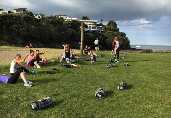 Five-Weeks of Unlimited Outdoor Group Fitness Bootcamp Sessions for One Person - Options for Two or Three People - Christchurch Location - Block Starts 27th May