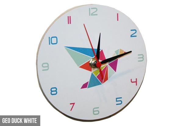 mdf clock range grabone nz. Black Bedroom Furniture Sets. Home Design Ideas