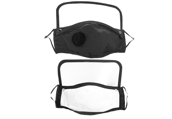 Reusable Face Mask with Shield & Six Filters - Options for Three or Five Packs & for Replacement Filter Packs