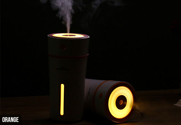 Ultrasonic Aromatherapy Diffuser & Nightlight with Free Metro Delivery