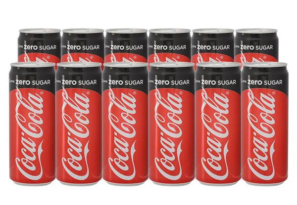 12pk of Coke Zero 320ml