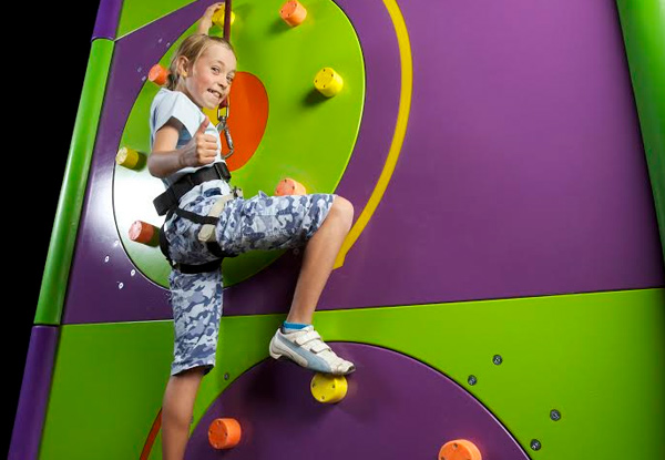 One-Hour Clip N Climb - Option for One-Hour Rock Climbing & One-Hour of Clip N Climb