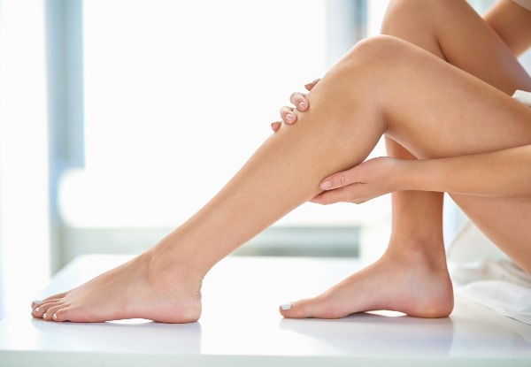 Waxing on Two Areas - Option for Four Areas