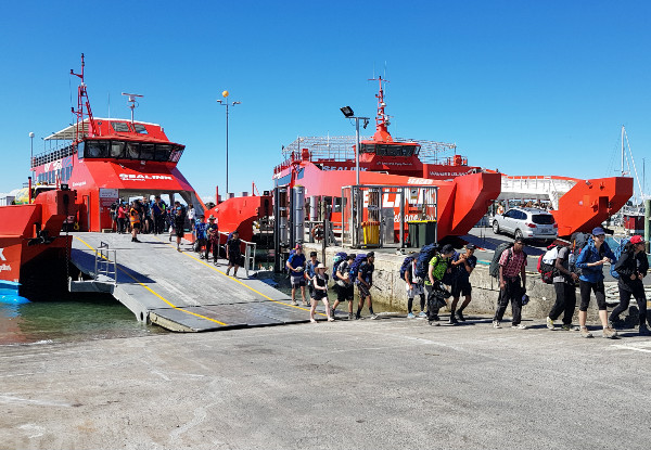 Return Passenger Ferry to Waiheke - Options for up to Eight People