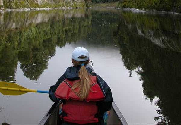 Five-Day Canoe Safari Down The Whanganui River for One Adult incl. Experienced Guide, Overnight Camping, Bridge to Nowhere Walk & All Meals - Multiple Dates & Child Options Available