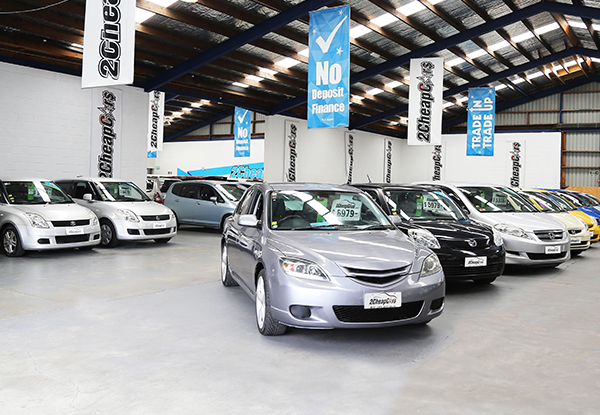 $300 Voucher Towards a Car at Any 2 Cheap Cars - 14 Locations Nationwide