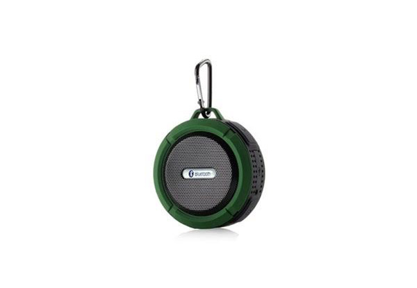 Wireless Water Resistant Speaker - Four Colours Available with Free Metro Delivery