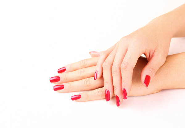 Express Manicure incl. Buff, Shape, & Gel Polish - Option for Express Pedicure or for Both