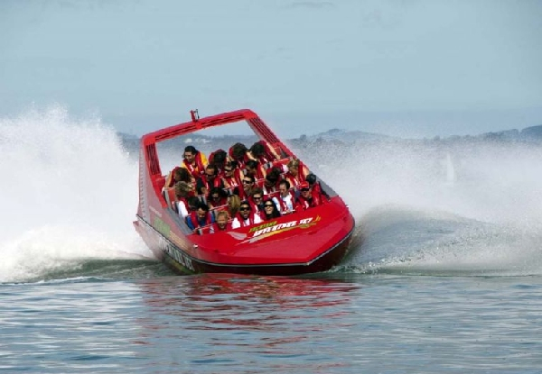 35-Minute Jet Boat Ride for One Person - Options for up to Ten People