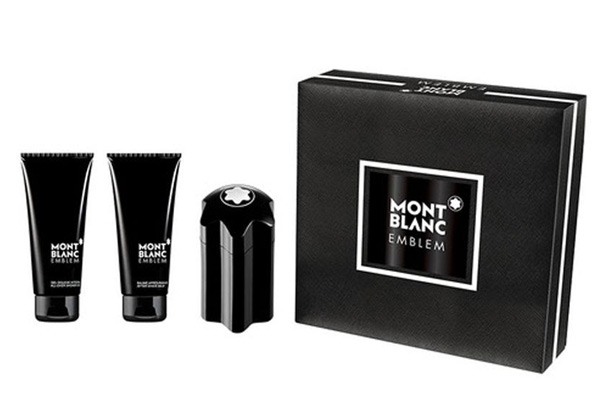 Three-Piece Mont Blanc Emblem Set