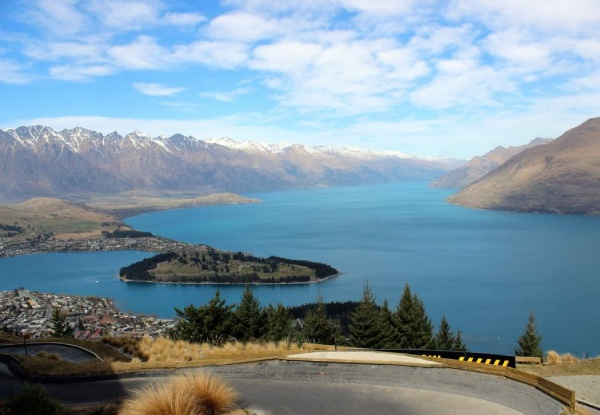 Per-Person Queenstown & Christchurch Fly & Drive Package incl. Four-Star Accomodation, Car Hire & Flights- Options for Three or Four Nights