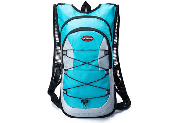 Double Layered Hydration Backpack with Two-Litre Reservoir - Four Colours Available
