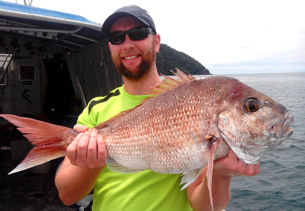 $95 for a Full-Day Fishing Trip for One Person incl. Tackle & Bait, Morning Tea & Light Lunch or $185 for Two People