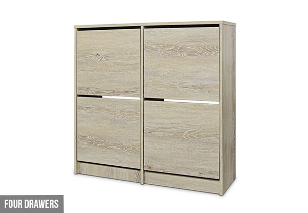 Enkel Shoe Cabinet - Two Styles Available