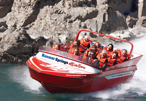 Jet Boat Experience for an Adult - Option for a Child
