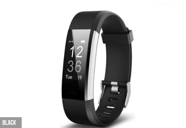 Activity Fitness Tracker - Five Colours Available with Free Metro Delivery