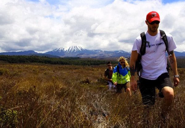 Two-Night Ohakune Tongariro Crossing Epic Adventure incl. Accommodation, Return Transport to Tongariro Crossing, Cooked Breakfast & Hot Tub Access - Three Accommodation Options Available & Option for One or Two People