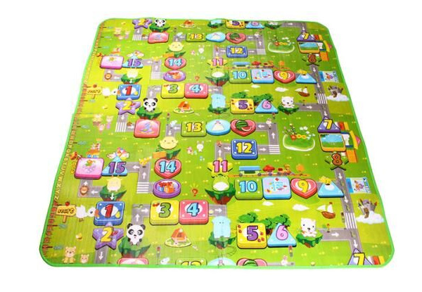 Double-Sided Alphabet Play Mat