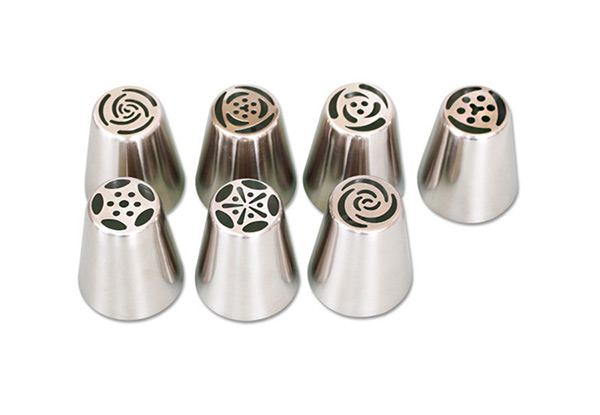 One 11-Piece Flower Piping Nozzle Set - Option for Two Sets with Free Delivery