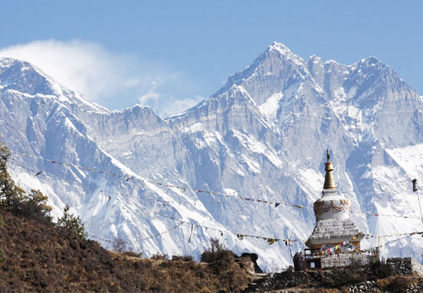 Per-Person Twin-Share 14-Day Mt Everest Base Camp Trek incl. Accommodation, Guide & Domestic Flights - Option to incl. Food