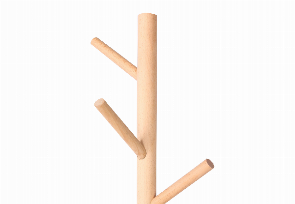 Berkley Solid Beech Coat Rack