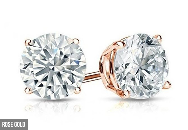 Standard Stud Earrings - Three Colours Available with Free Delivery