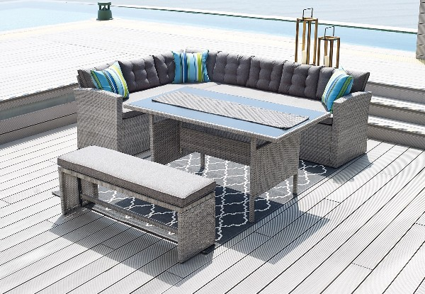Pre-Order Four-Piece CATANIA Sectional Outdoor Furniture Set