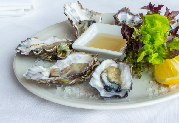 Half a Dozen Oysters & a Glass of Moet for One Person - Options for up to Eight People