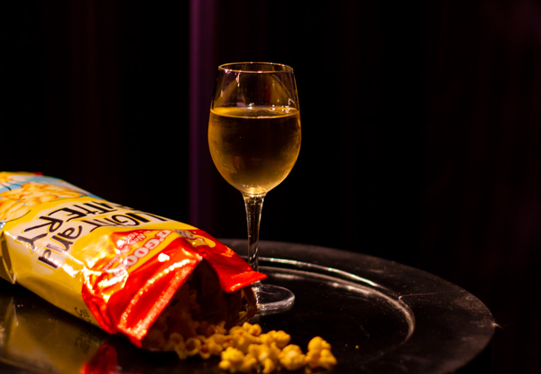 Movie Ticket & a Bag of Popcorn for One Person - Options for Two People & to incl. an Ice Cream & a Glass of Wine or Beer