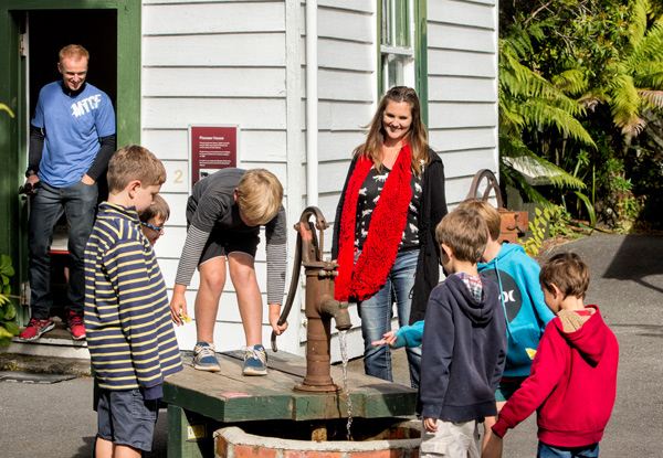 Adult Entry to  The Buried Village of Te Wairoa incl. Award-Winning Museum, Archaeological Sites & Te Wairoa Waterfall - Options for Teens & Family Entry