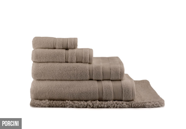 Canningvale Amalfitana Seven Piece Towel Set - Five Colours Available with Free Delivery