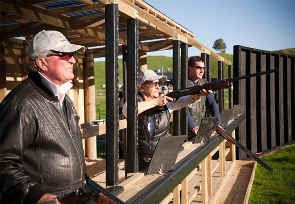 From $45 for Clay Bird Shooting incl. Bonus Activities & a Drink – Options for One, Two, Four or Six People