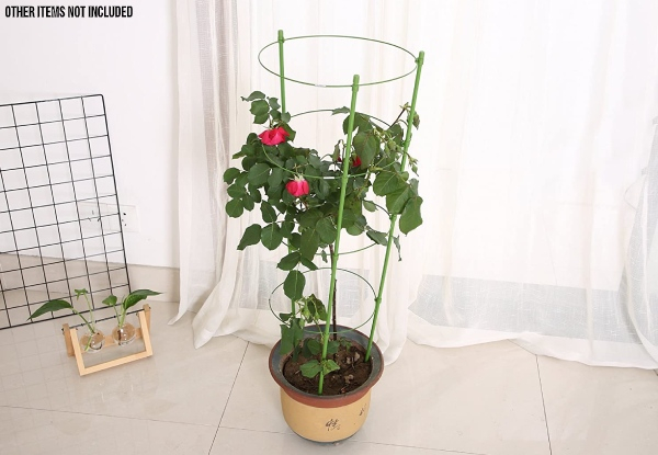 Two-Pack of Plant Support Cages - Option for Four-Pack