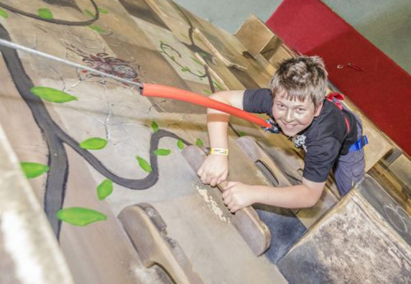 Full-Day Indoor Rock-Climbing Pass incl. Harness Hire - Available at Panmure Location Only