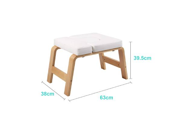 Yoga Wooden Headstand Bench - Two Colours Available