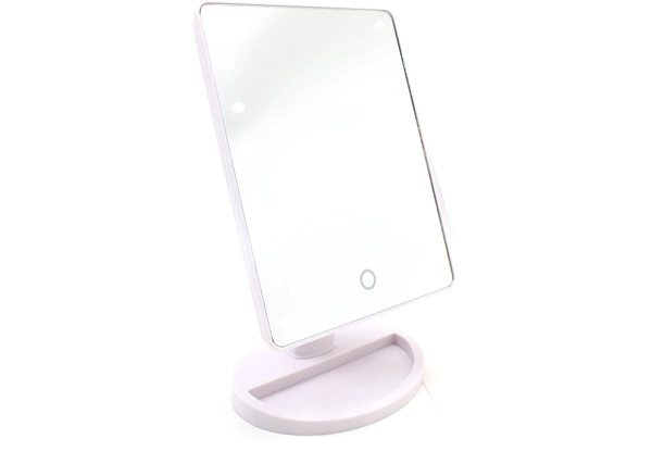 LED Makeup Mirror on Stand