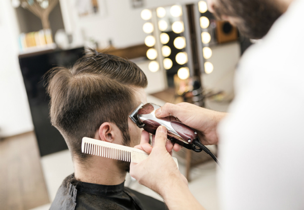 Men's Hair Cut incl. Wash, Cut, Style & Scalp Massage