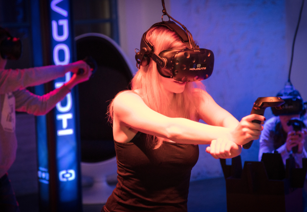 Virtual Reality Voucher to Spend at ThrillZone for One Person - Options for up to Eight People