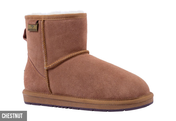 Auzland Unisex Classic Water-Resistant Mini UGG Boots - Three Colours