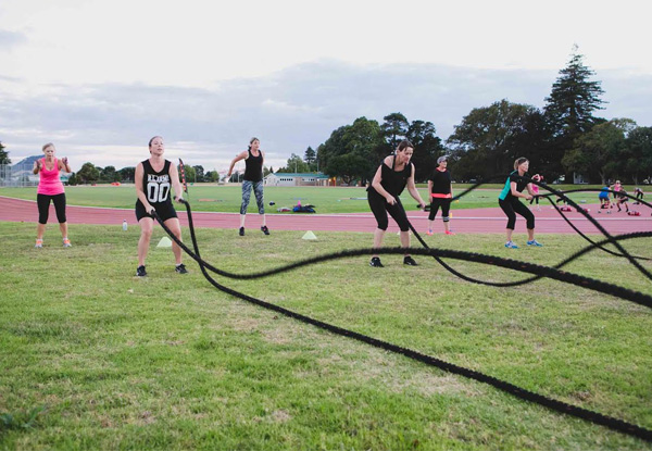 Five-Weeks of Unlimited Outdoor Group Fitness Bootcamp Sessions - Christchurch Location