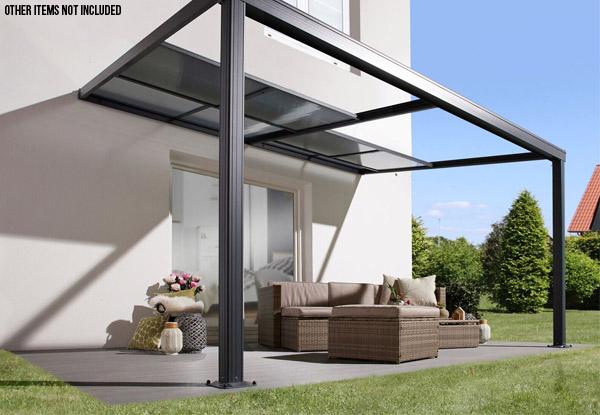 Aluminum Patio Roof Canopy Grabone Nz