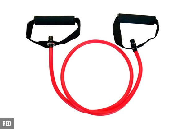 Pilates Tubes Strength Resistance Band - Five Colours Available