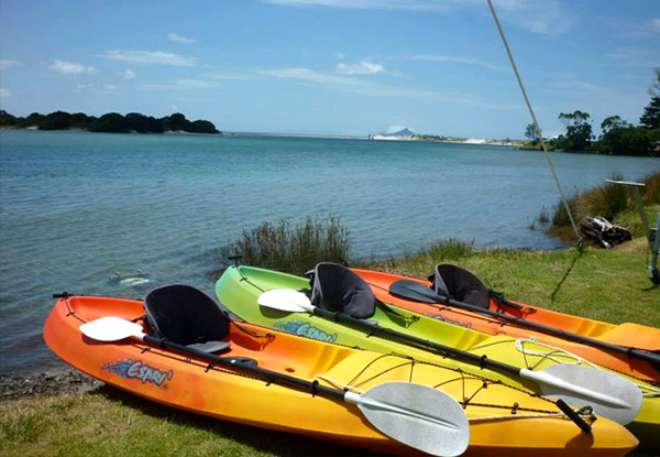 2.5-Hour Guided Eco Kayak Tour in Ruakaka for One Adult - Options for a Child or a Family