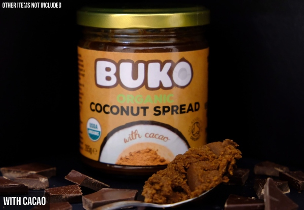 Buko Organic Coconut Spread - Three Flavours Available & Option for up to Three